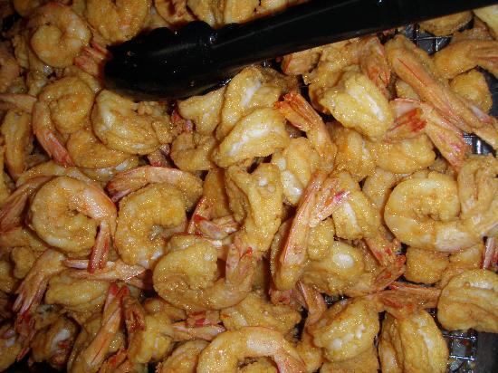 Darien, GA: Fresh, hot shrimp