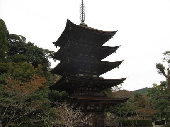 Ruriko Temple Five-Story Pagoda : 五重塔