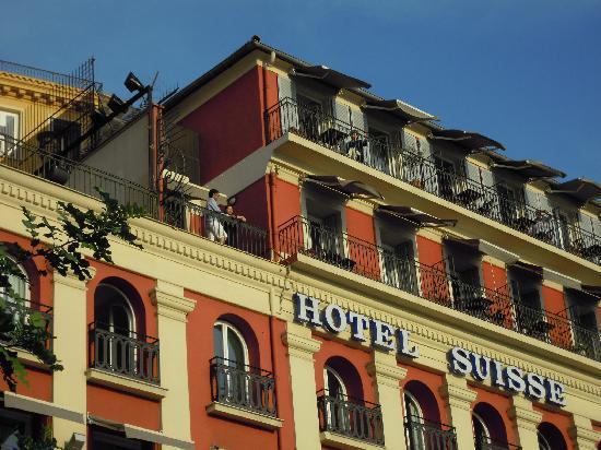 Hotel Suisse: 外観