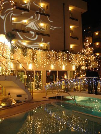 Hotel Belvedere: hotel addobbato