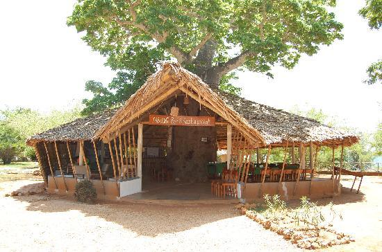 Kilwa Seaview Resort: Restaurangen