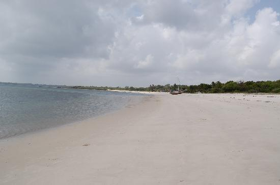 Kilwa Seaview Resort : Stranden