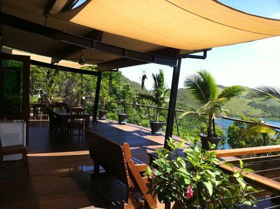 Keswick Island Guesthouse: Terrace