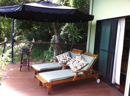 Keswick Island Guesthouse: Terrace 2