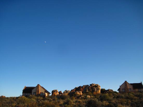 Kagga Kamma Nature Reserve: view of the chalet