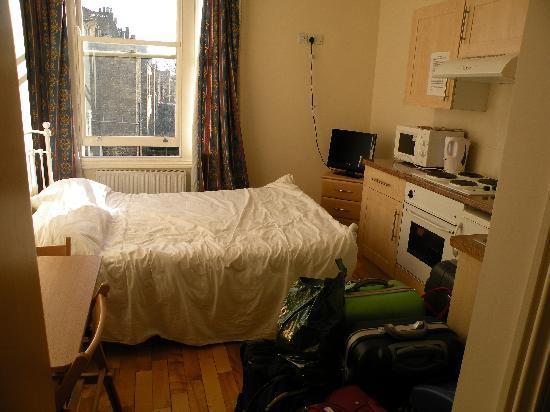 Earls Court Studios: dimensioni della stanza