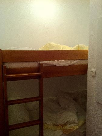 Residence la Turra: Small, tiny, un-confy beds, situated somewhere on a small hallway they pretend to be a room