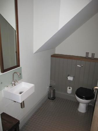 Toilet Room Under The Stairs To Mezzanine Level Picture