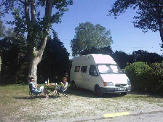 Camping Intercommunal de la Durance : emplacement