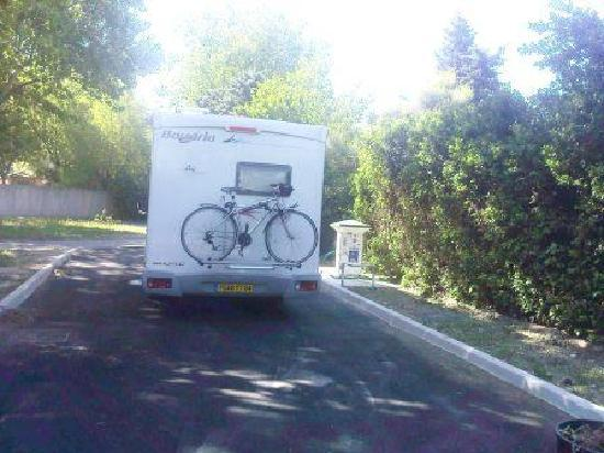 Camping Intercommunal de la Durance: air de service pour camping cars