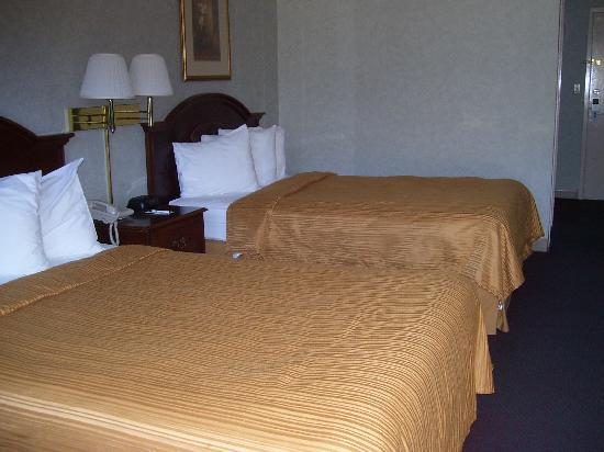 Quality Inn Shenandoah Valley: Room 119 - Two Double Beds