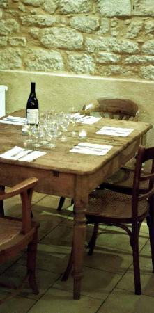 Galerie.M. Monpazier Cafe Restaurant : Inside