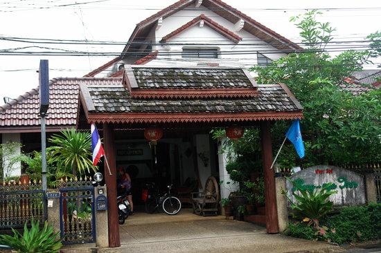 Phang Nga Inn : Eingangsbereich zur Rezeption