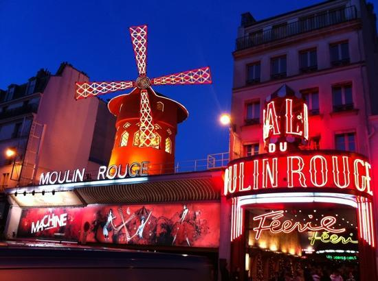 Moulin Rouge: pigalle