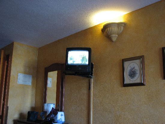 Hotel Ole Tropical: Extremt liten tv