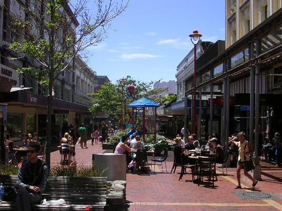 Wellington, Selandia Baru: Cuba St.