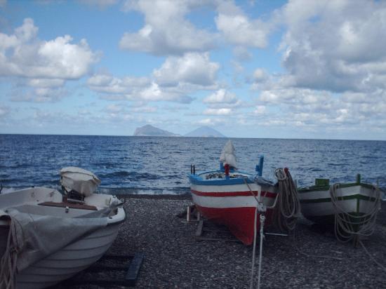 Lipari, Itália: vista panarea