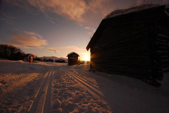 Hovringen, Norway: Winter paradise