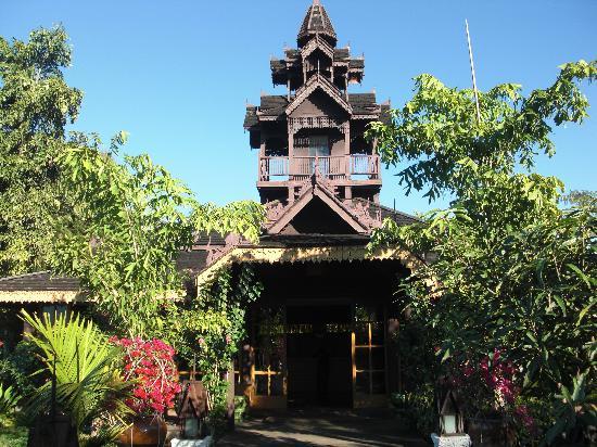 Inle Resort & Spa : Resorteingang