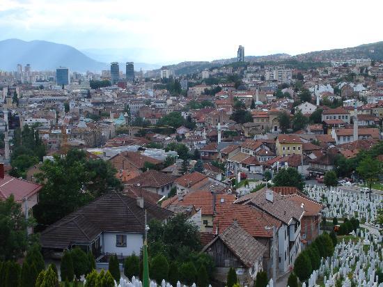 Sarajevo, Bosnia and Herzegovina: Stadtansicht