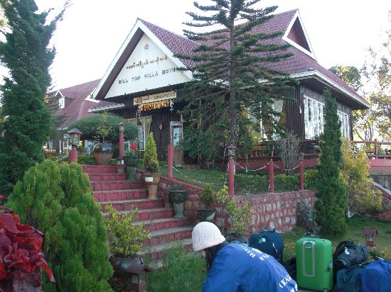 Hill Top Villa Resort Kalaw : Resorteingang