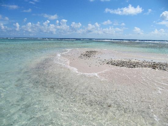 Posada Macondo: Dovrò tornare  per vedere questa lingua di sabbia senza la marea