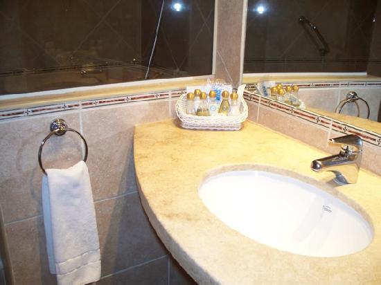 Hotel Nahuel Huapi : Baño