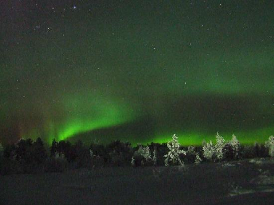 ‪‪Hotel Jussantupa‬: Spectacular of the Northern Lights‬