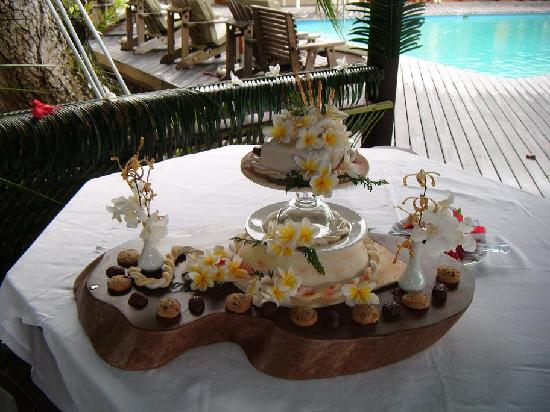 Indian Ocean Lodge: Wedding Cake