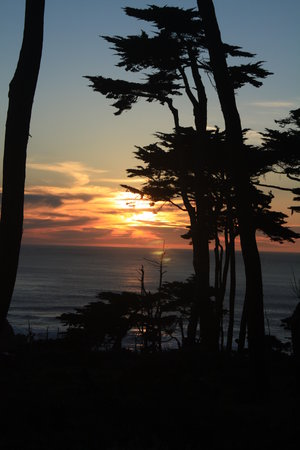 Lands End : Sunset