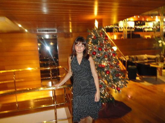 الكونكيستادور هوتل: Lobby do hotel