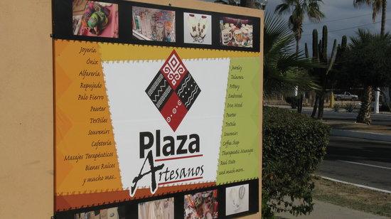 San José Del Cabo, México: Entryway sign off Blvd. Antonio Mijares