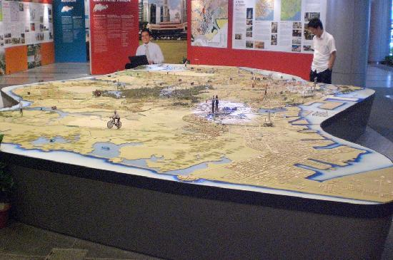 Singapore City Gallery: komplette Insel, Erdgeschoss