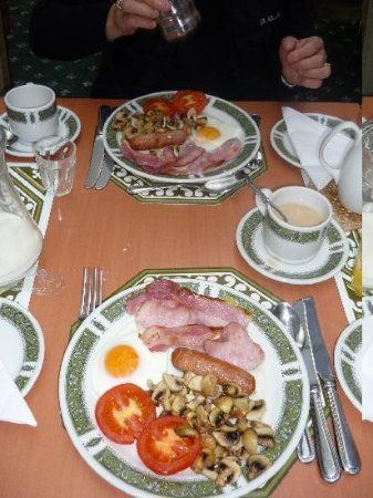 Hamilton House Bed and Breakfast : English breakfast : nous avons ttous adoré...