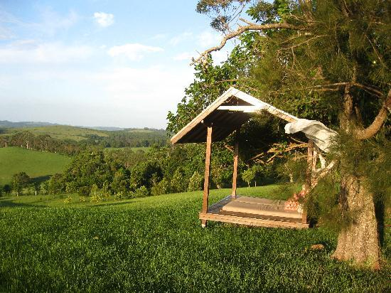 Gaia Retreat & Spa: Don't you just want to rest in this Day Bed? The view is magnificent!