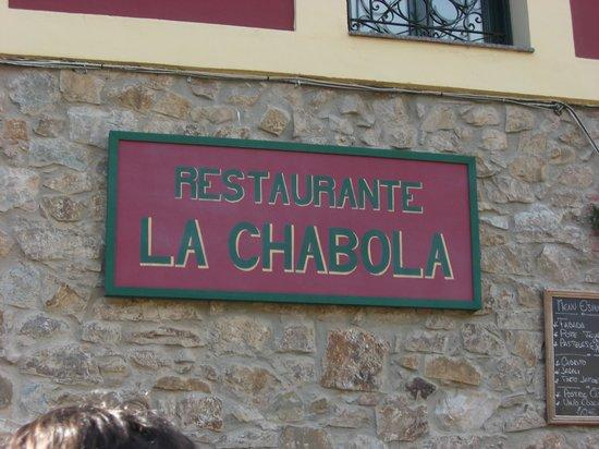 entrada del restaurante la chabola.