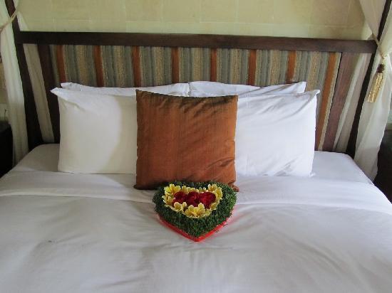 Gending Kedis Villas & Spa Estate: surprise upon arrival in room