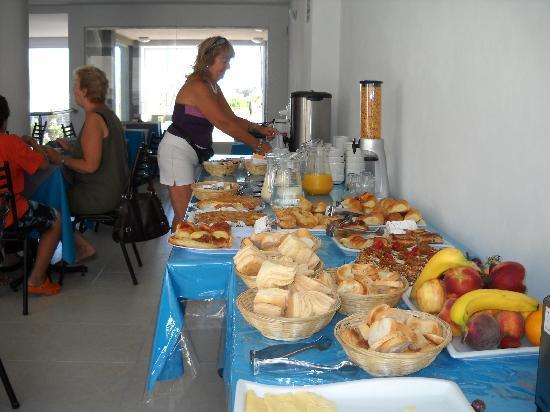 Terra do Mar: En el desayunador..