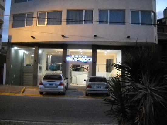San Bernardo, Argentina: La entrada del hotel