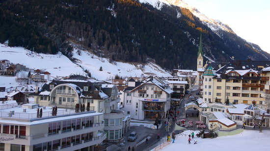 Ischgl, Austria: View from the Balcony