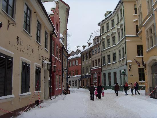 Hotel Justus: jauniela street