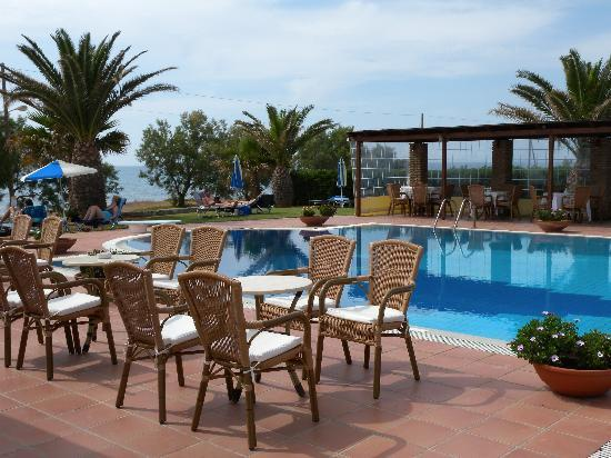 Oasis Hotel: piscine et abords