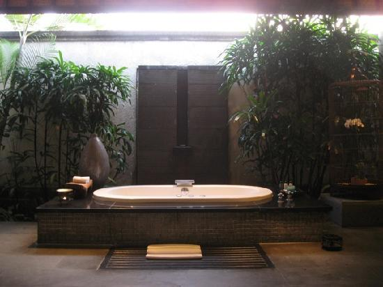 Villa Air Bali Boutique Resort & Spa: View of bathtub