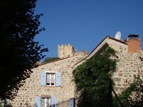 Le Prieure: A view of the b&b