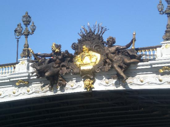 Paris, Frankrike: puente del sena