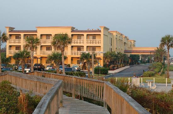 Hampton Inn Suites St Augustine Vilano Beach View From The