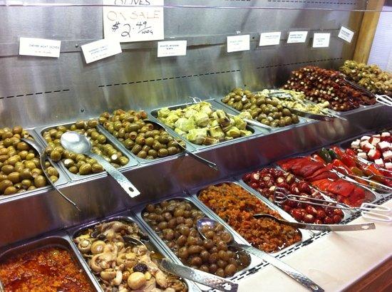 St. Lawrence Market: antipasti