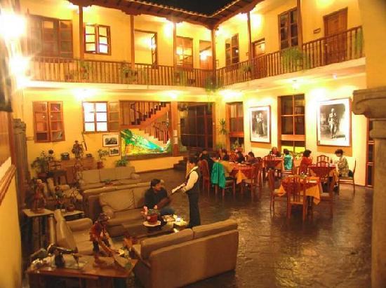 BEST WESTERN Los Andes De America: Lobby Hotel Best Western Los Andes de América