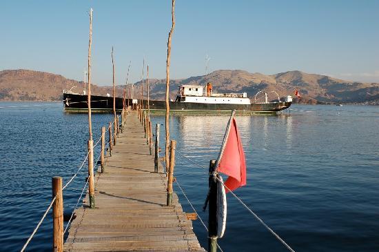 Yavari Bed & Breakfast: The ship
