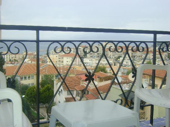 Alika Hotel: Wiev from the balcony